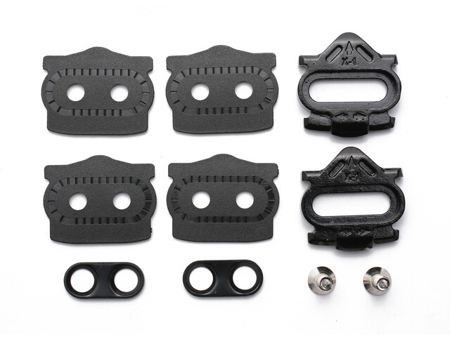 HT X1 Cleat-Kit 4° Floating Easyclip schwarz